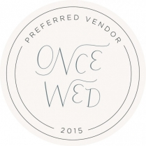 OnceWed_PreferredVendor_Circle_2015